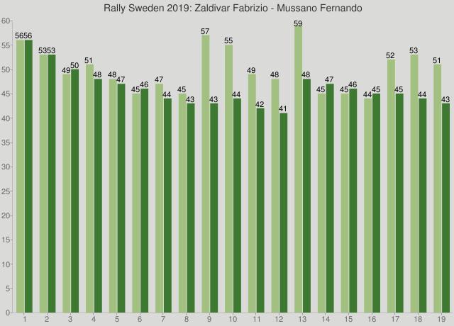 Rally Sweden 2019: Zaldivar Fabrizio - Mussano Fernando
