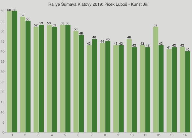 Rallye Šumava Klatovy 2019: Picek Luboš - Kunst Jiří