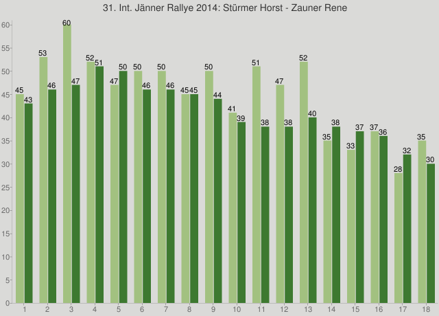 31. Int. Jänner Rallye 2014: Stürmer Horst - Zauner Rene