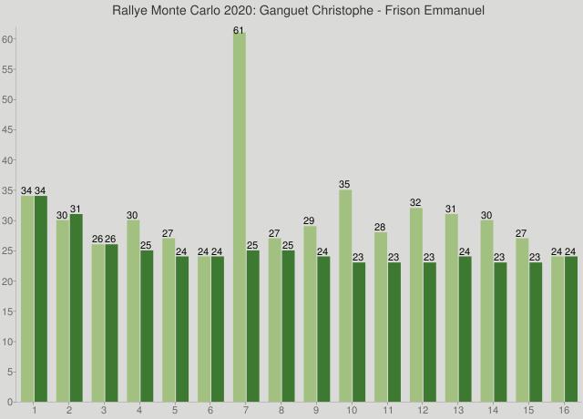 Rallye Monte Carlo 2020: Ganguet Christophe - Frison Emmanuel