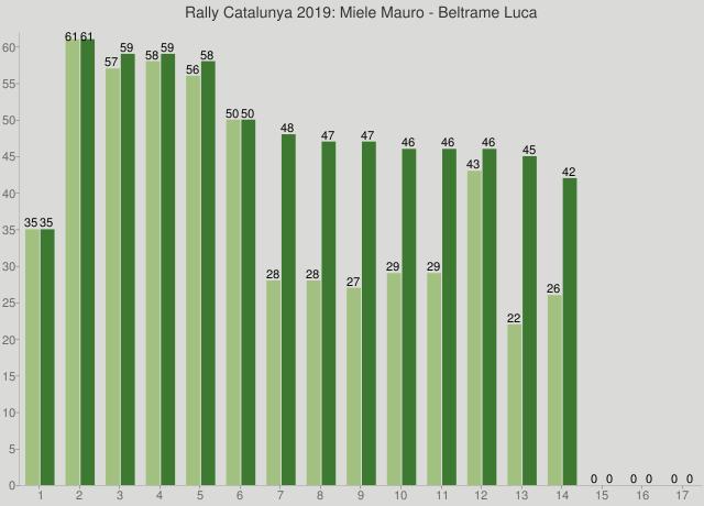 Rally Catalunya 2019: Miele Mauro - Beltrame Luca
