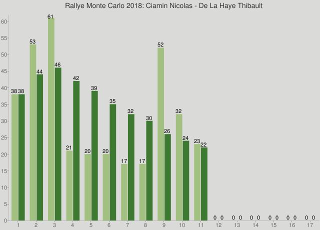 Rallye Monte Carlo 2018: Ciamin Nicolas - De La Haye Thibault