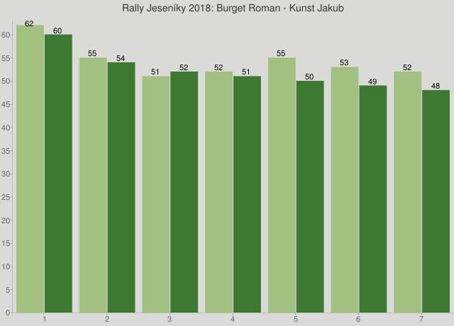 Rally Jeseníky 2018: Burget Roman - Kunst Jakub