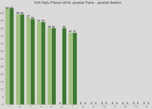 SVK Rally Příbram 2018: Janeček Patrik - Janeček Bedřich