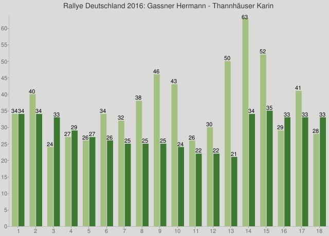 Rallye Deutschland 2016: Gassner Hermann - Thannhäuser Karin