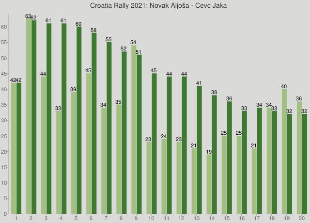 Croatia Rally 2021: Novak Aljoša - Cevc Jaka