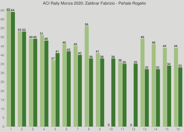 ACI Rally Monza 2020: Zaldivar Fabrizio - Peñate Rogelio