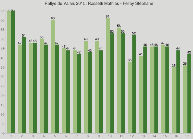 Rallye du Valais 2015: Rossetti Mathias - Fellay Stéphane
