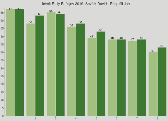 Invelt Rally Pačejov 2019: Ševčík David - Pospíšil Jan