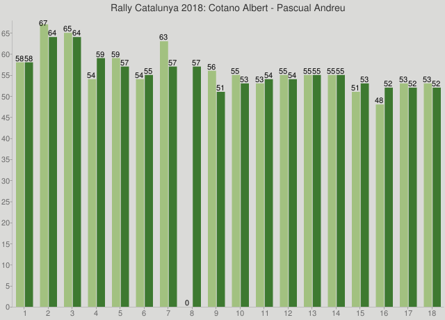 Rally Catalunya 2018: Cotano Albert - Pascual Andreu