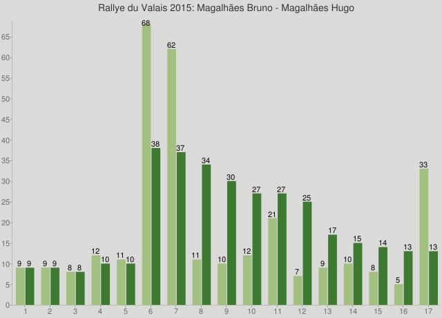 Rallye du Valais 2015: Magalhães Bruno - Magalhães Hugo