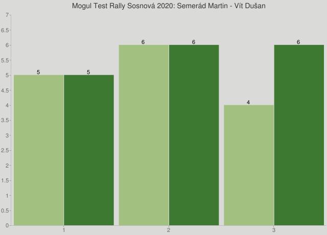 Mogul Test Rally Sosnová 2020: Semerád Martin - Vít Dušan