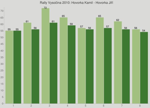 Rally Vysočina 2010: Hovorka Kamil - Hovorka Jiří
