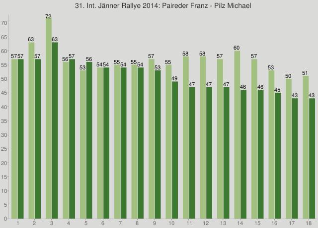 31. Int. Jänner Rallye 2014: Paireder Franz - Pilz Michael