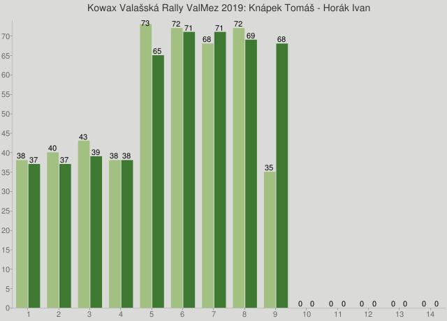 Kowax Valašská Rally ValMez 2019: Knápek Tomáš - Horák Ivan