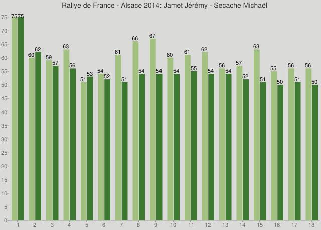 Rallye de France - Alsace 2014: Jamet Jérémy - Secache Michaël