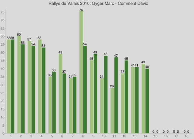Rallye du Valais 2010: Gyger Marc - Comment David