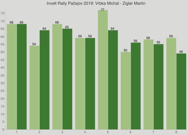 Invelt Rally Pačejov 2019: Vrbka Michal - Zigler Martin