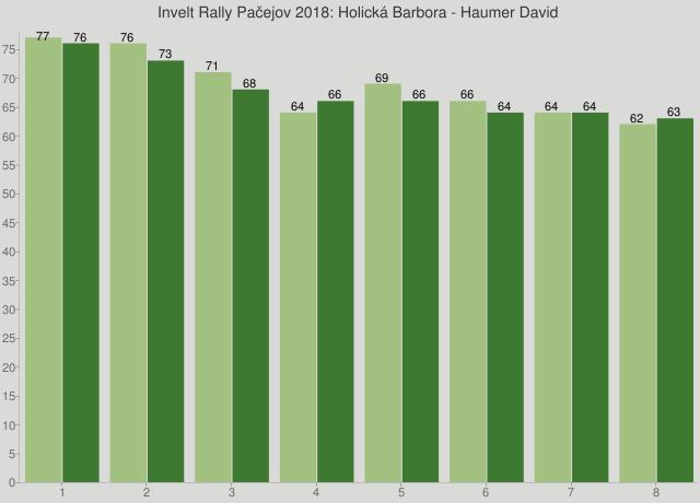 Invelt Rally Pačejov 2018: Holická Barbora - Haumer David