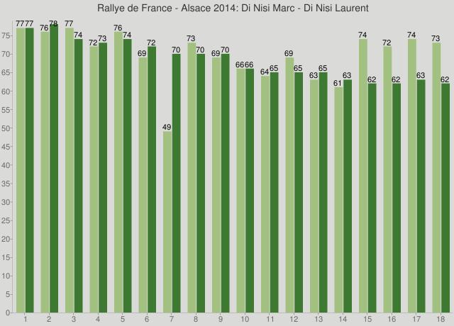 Rallye de France - Alsace 2014: Di Nisi Marc - Di Nisi Laurent