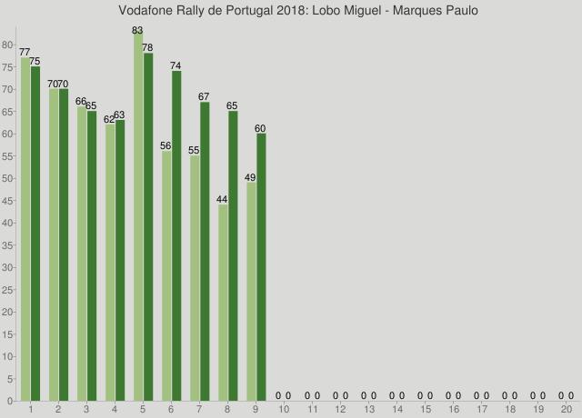 Vodafone Rally de Portugal 2018: Lobo Miguel - Marques Paulo