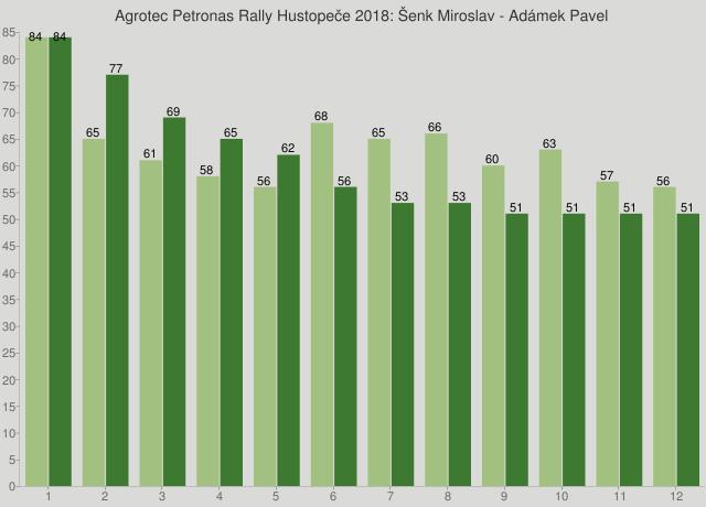 Agrotec Petronas Rally Hustopeče 2018: Šenk Miroslav - Adámek Pavel