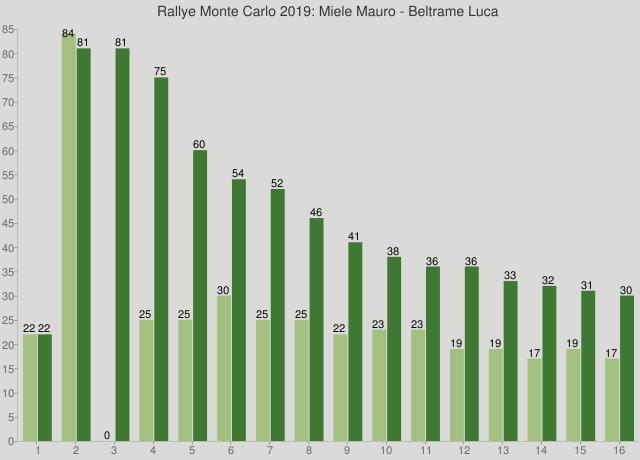 Rallye Monte Carlo 2019: Miele Mauro - Beltrame Luca
