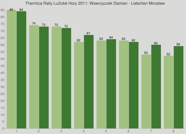Thermica Rally Lužické Hory 2011: Wawrzyczek Damian - Liebchen Mirosław