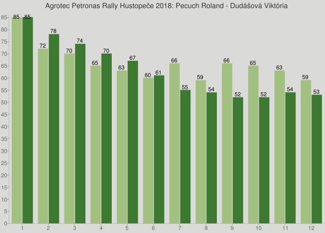 Agrotec Petronas Rally Hustopeče 2018: Pecuch Roland - Dudášová Viktória