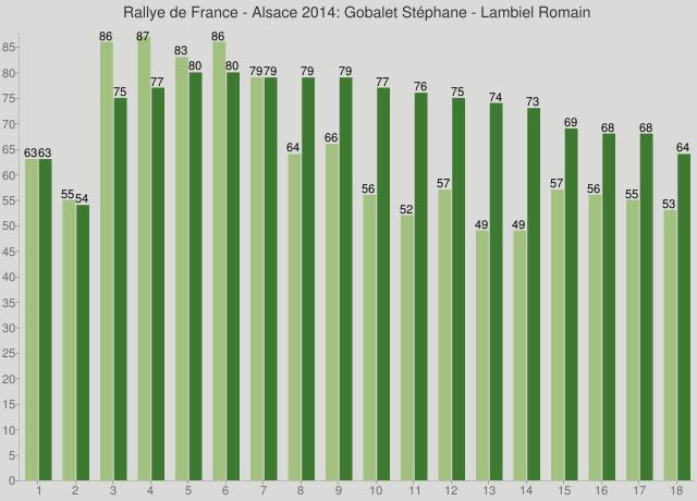Rallye de France - Alsace 2014: Gobalet Stéphane - Lambiel Romain
