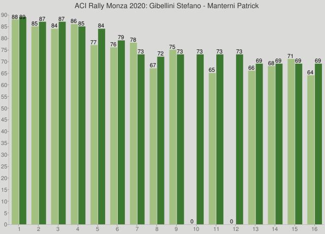 ACI Rally Monza 2020: Gibellini Stefano - Manterni Patrick