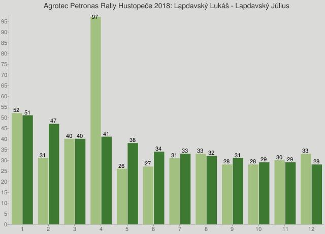 Agrotec Petronas Rally Hustopeče 2018: Lapdavský Lukáš - Lapdavský Július