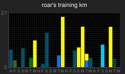 roar's orienteering training log