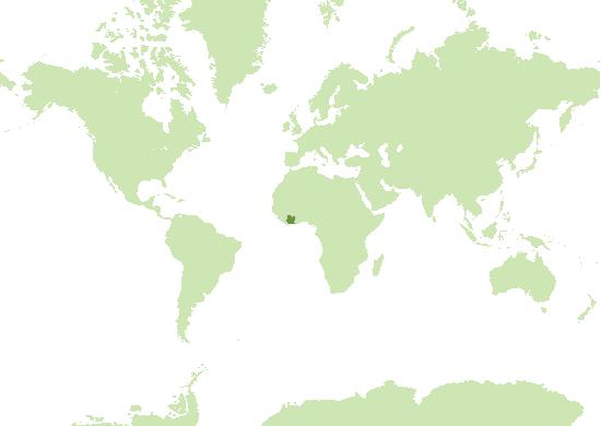 Côte d'Ivoire Karte
