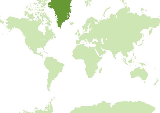Grönland Karte
