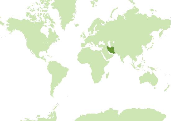 Iran Karte