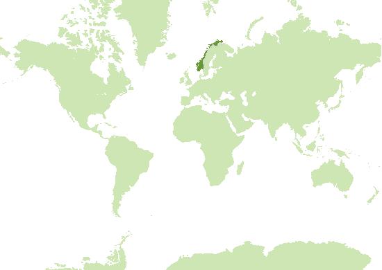 Norwegen Karte
