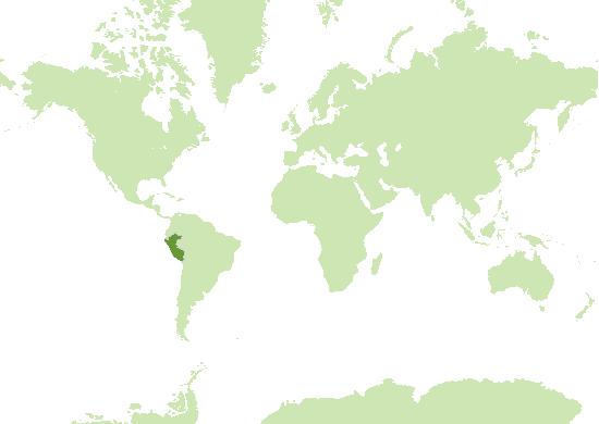 Peru Karte