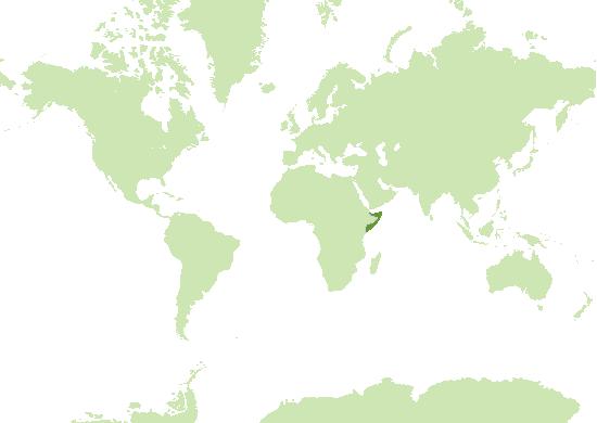 Somalia Karte