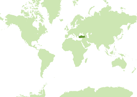 Türkei (Europa) Karte