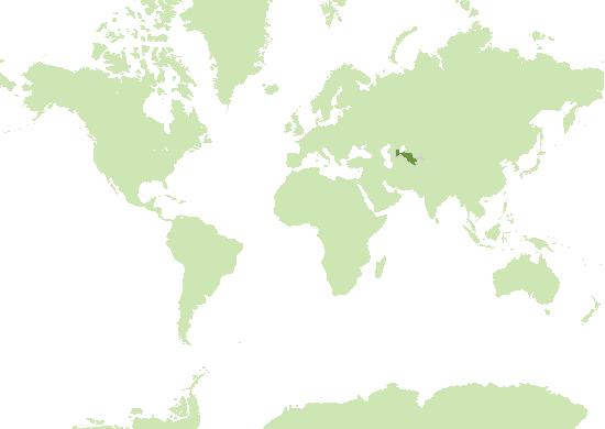 Usbekistan Karte