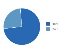 Rochester Own vs. Rent