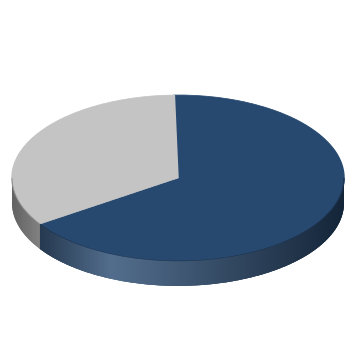 chart showing percentage of maintaining goals completed for the county