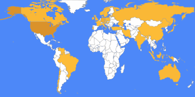 Map with the usergroups