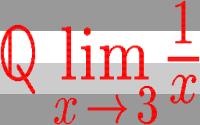 Formula with horizontal stripes